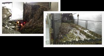 産業廃棄物収集運搬写真2枚組み